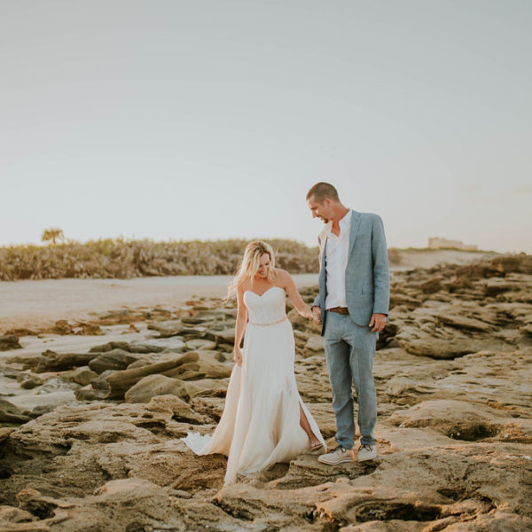 Allie & Zachary // St. Augustine Elopement