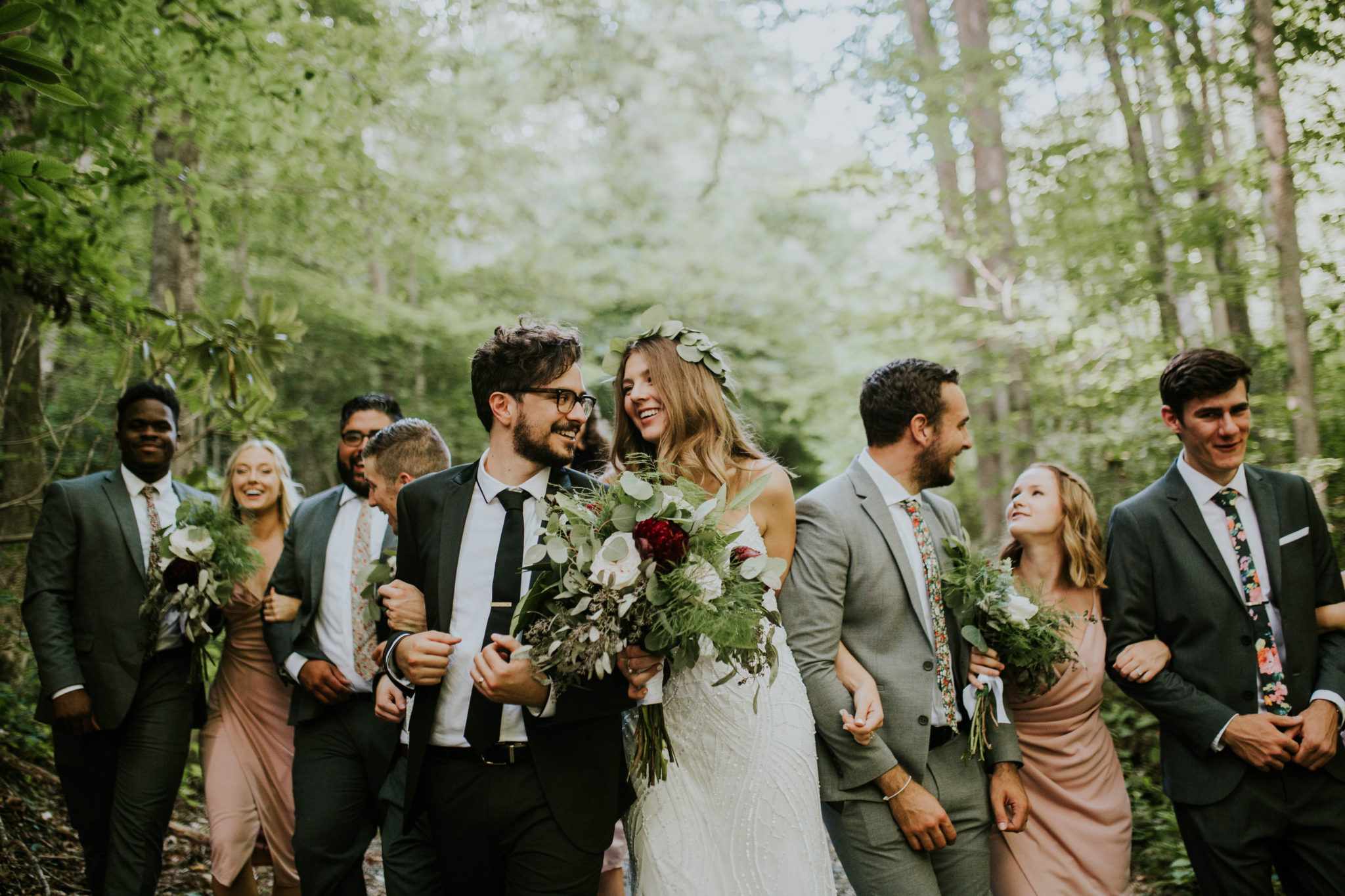 Anna & Jesus North Carolina Mountain Wedding Photographer-539