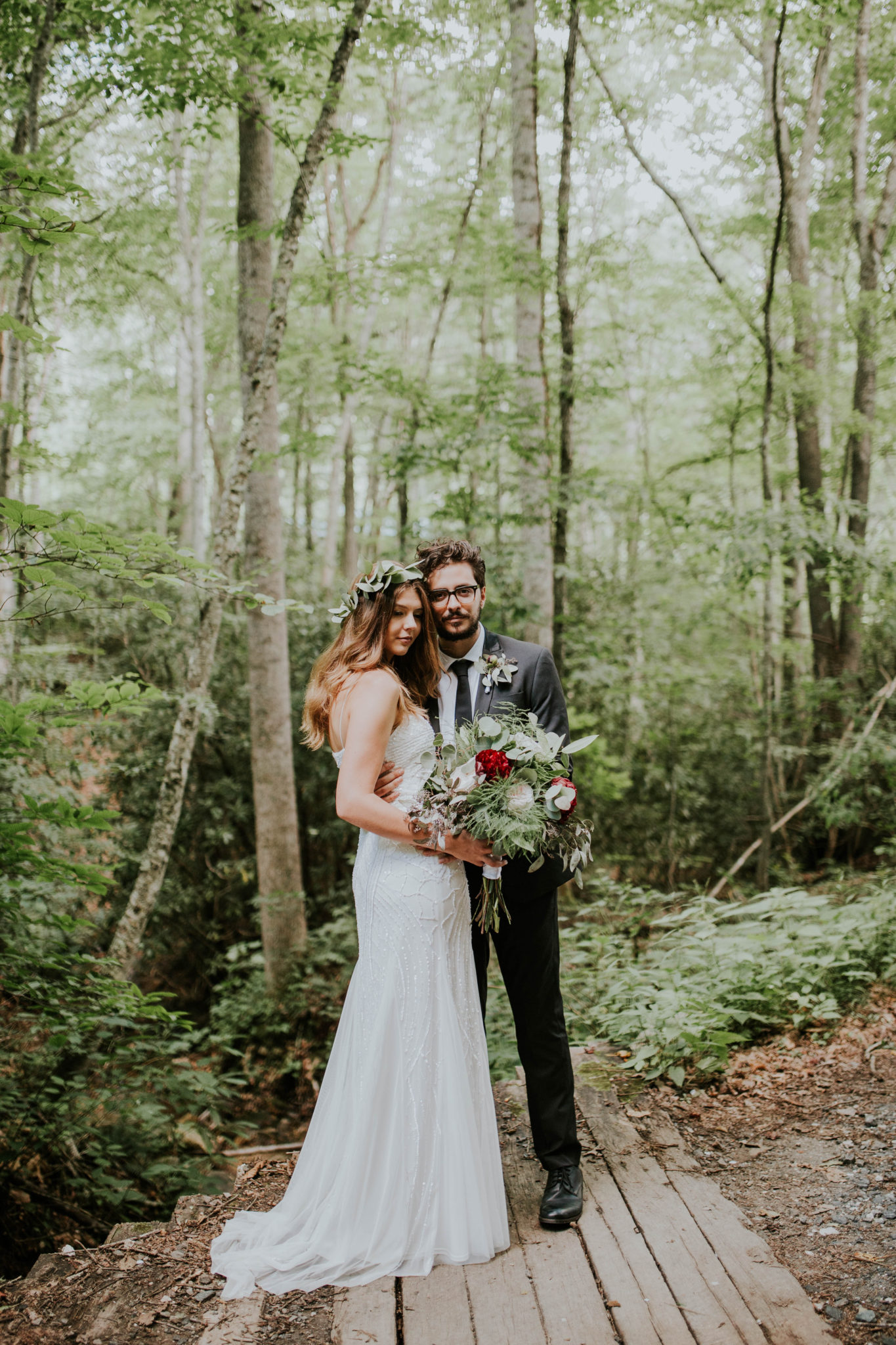 Anna & Jesus North Carolina Mountain Wedding Photographer-633