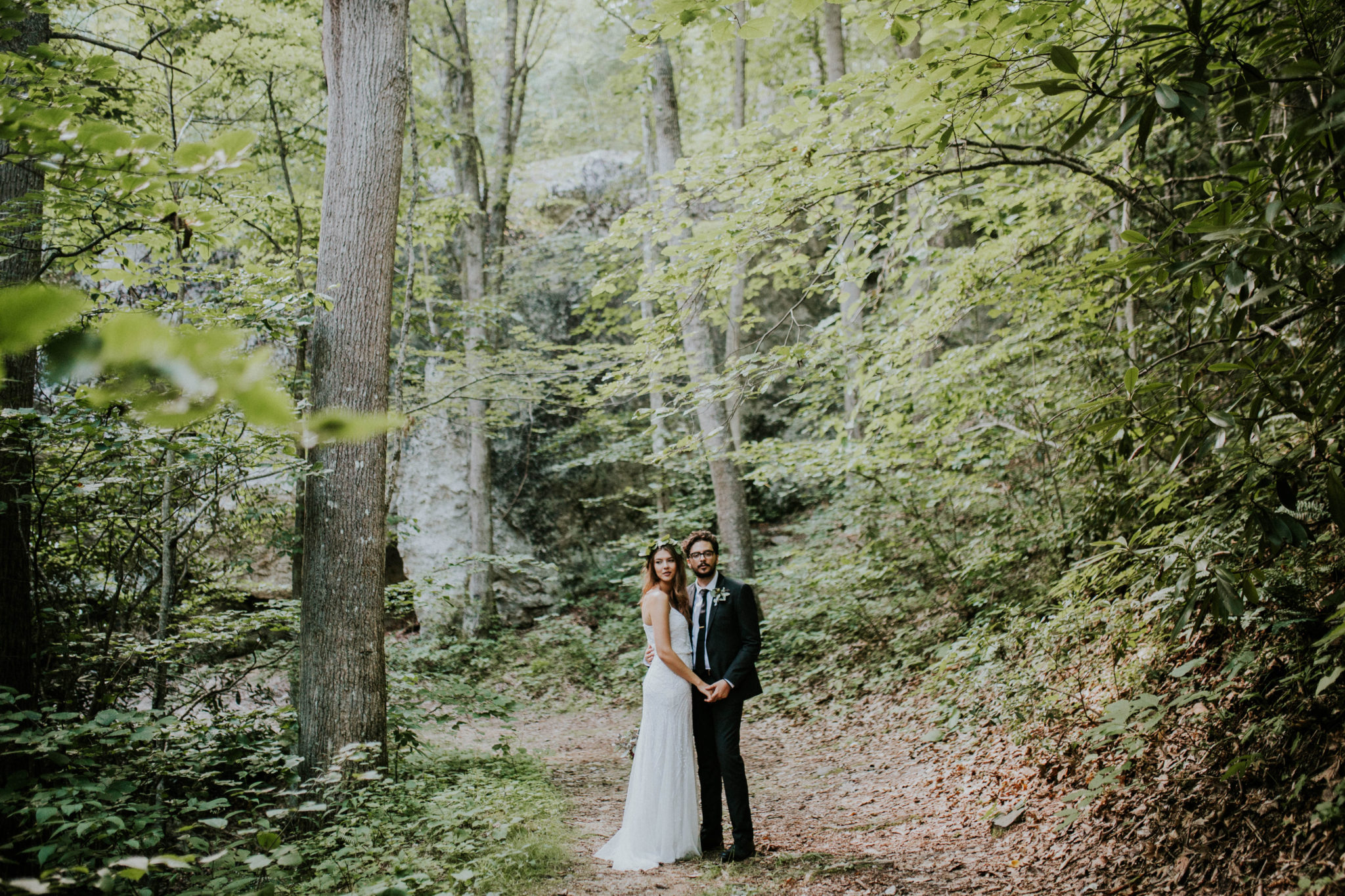 Anna & Jesus North Carolina Mountain Wedding Photographer-685