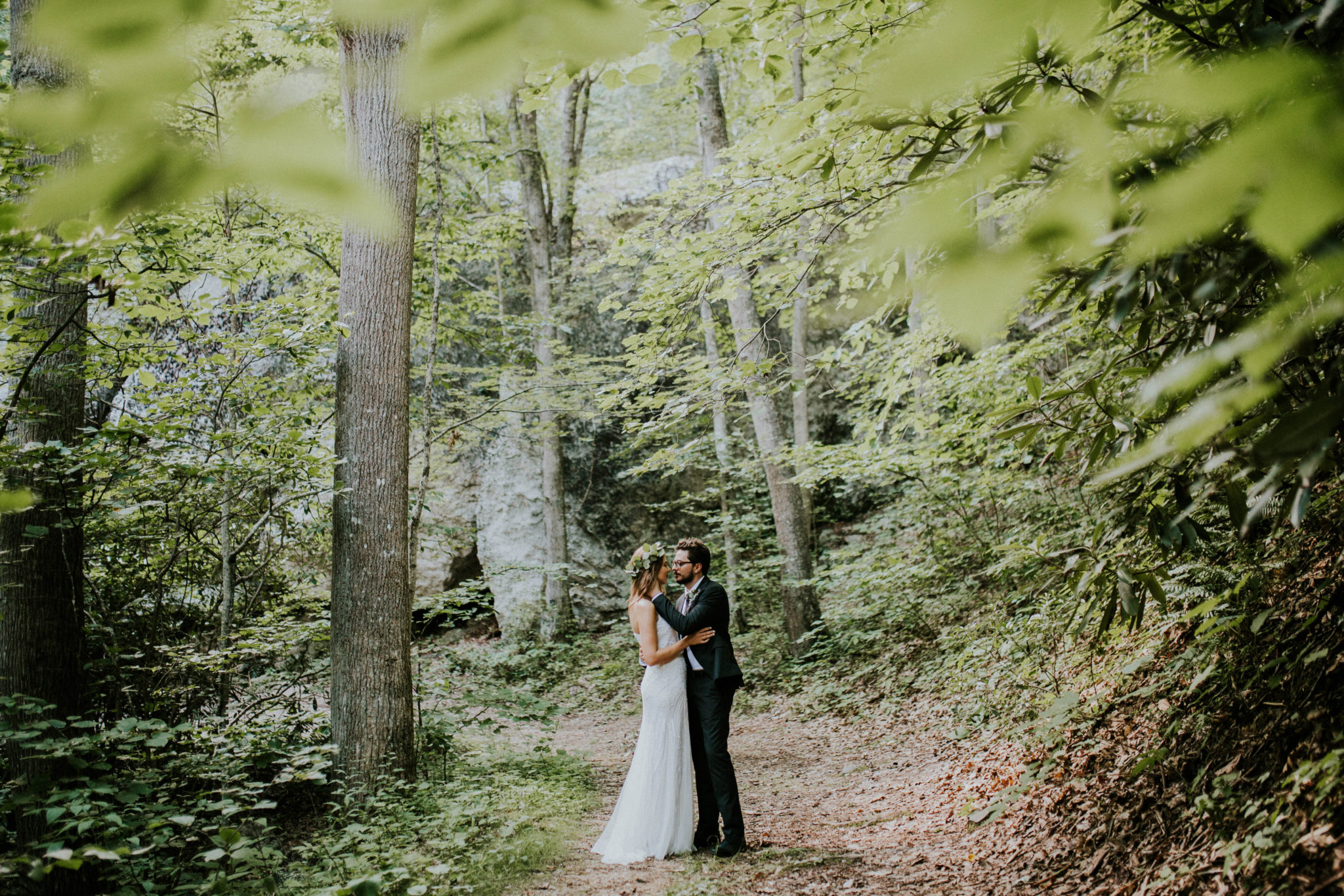 Anna & Jesus North Carolina Mountain Wedding Photographer-688