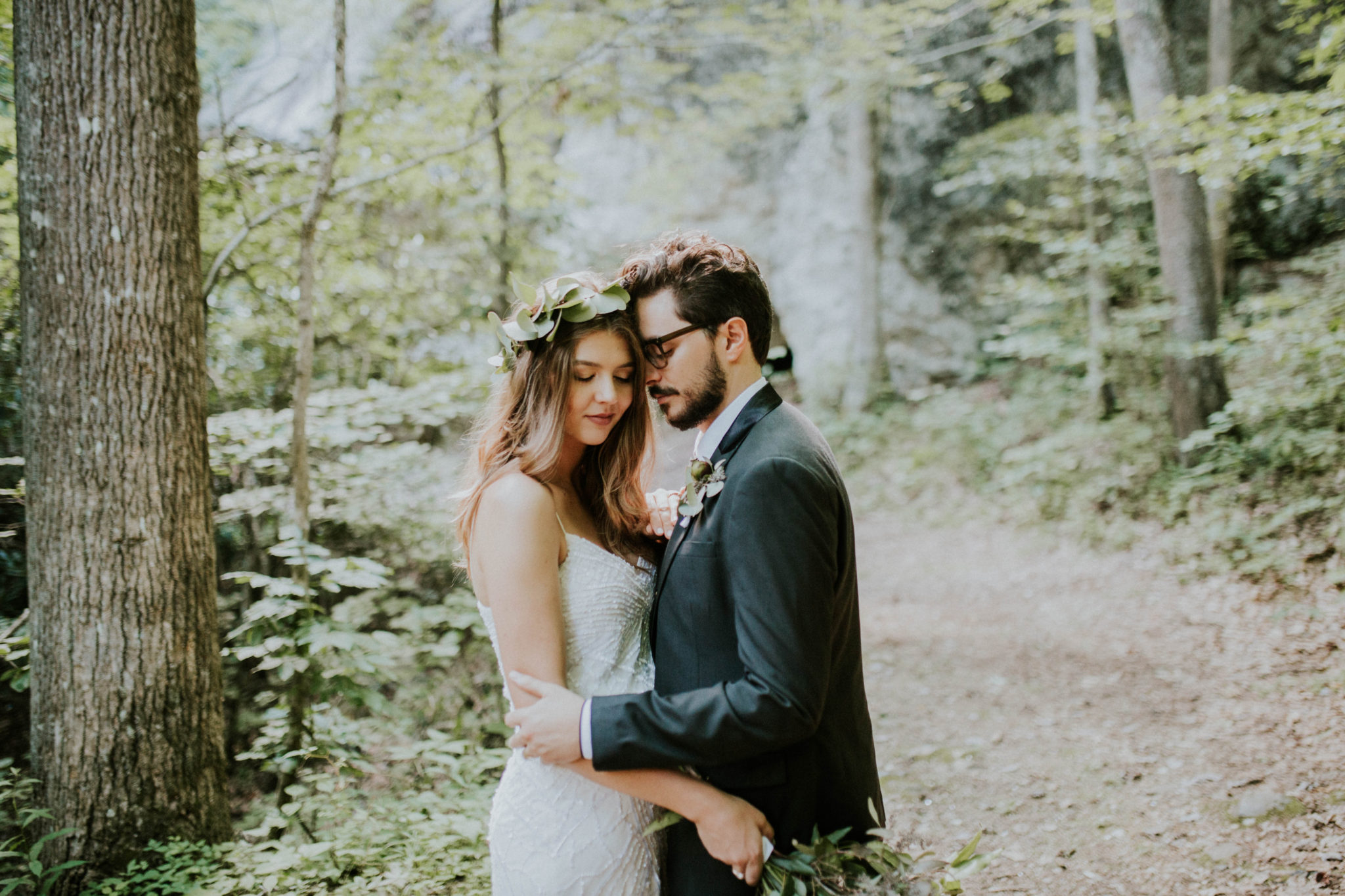 Anna & Jesus North Carolina Mountain Wedding Photographer-707