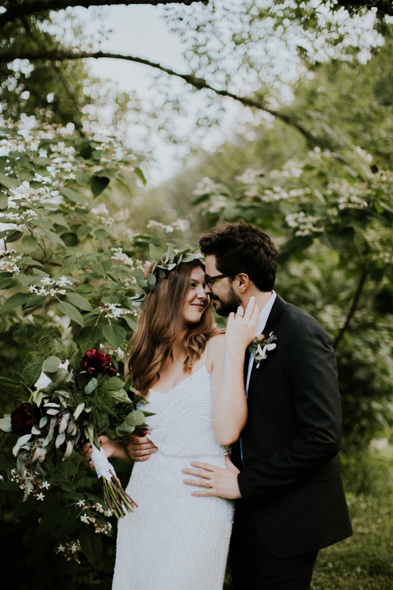 Anna & Jesus North Carolina Mountain Wedding Photographer-761