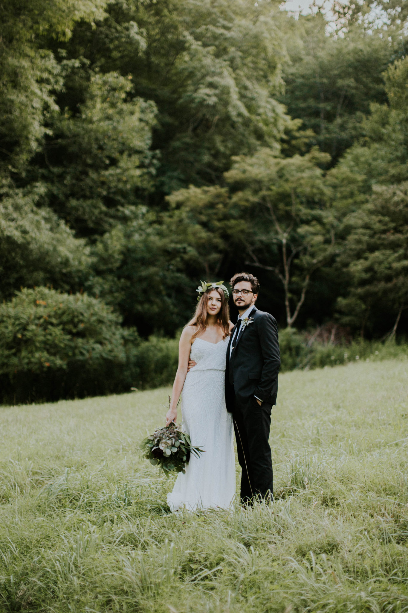 Anna & Jesus North Carolina Mountain Wedding Photographer-772