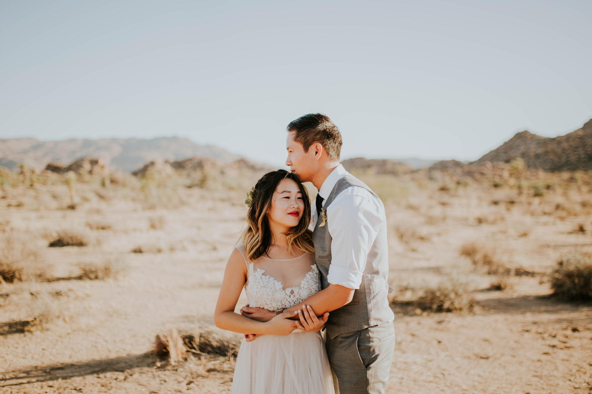 Mandy & Joey Joshua Tree Elopement California Wedding Photographer-101