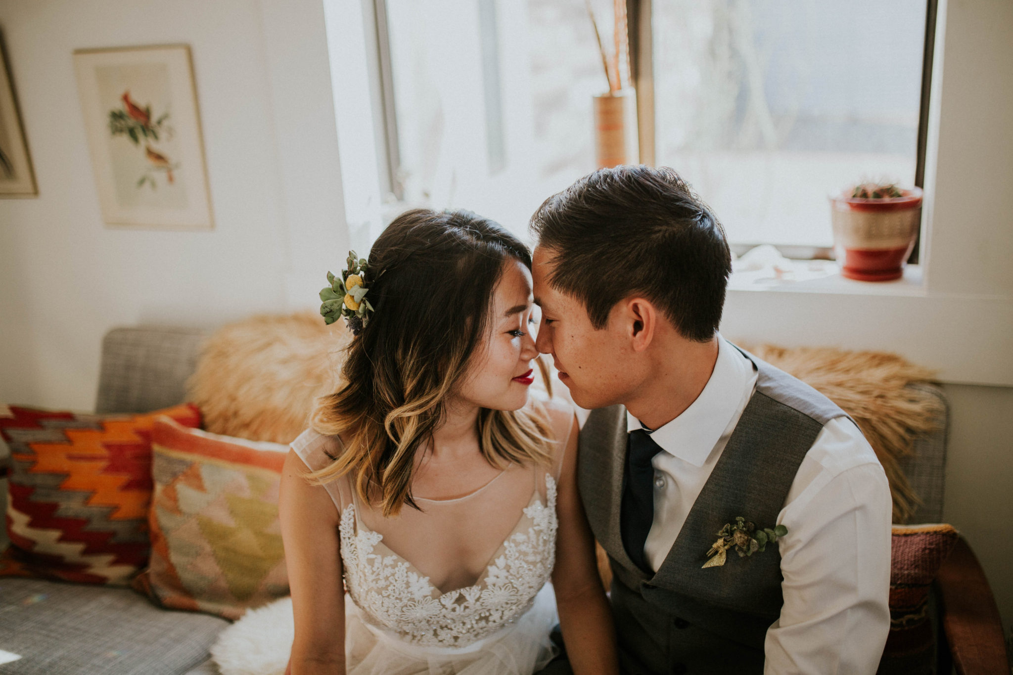 Mandy & Joey Joshua Tree Elopement California Wedding Photographer-11