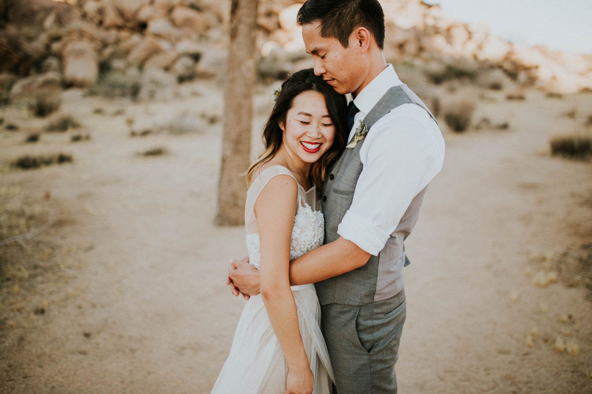 Mandy & Joey Joshua Tree Elopement California Wedding Photographer-154