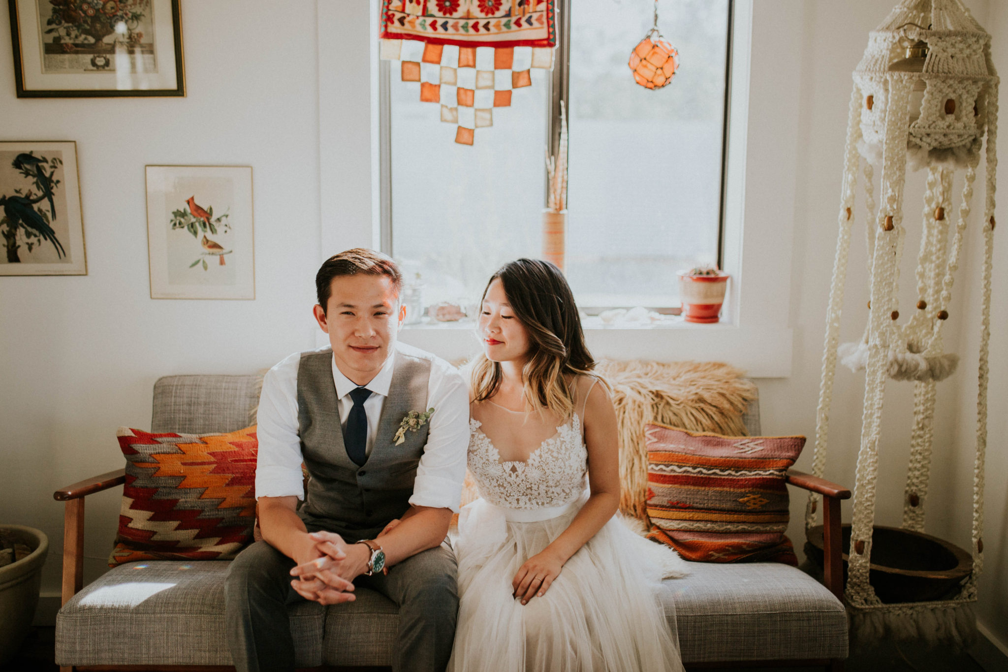 Mandy & Joey Joshua Tree Elopement California Wedding Photographer-2