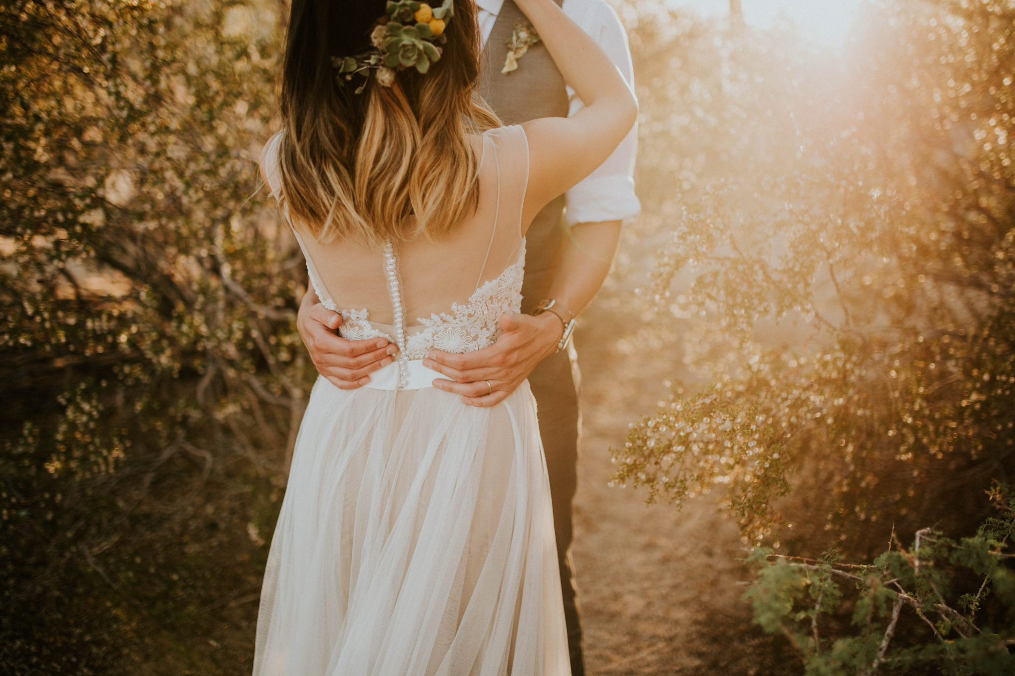 Mandy & Joey Joshua Tree Elopement California Wedding Photographer-222