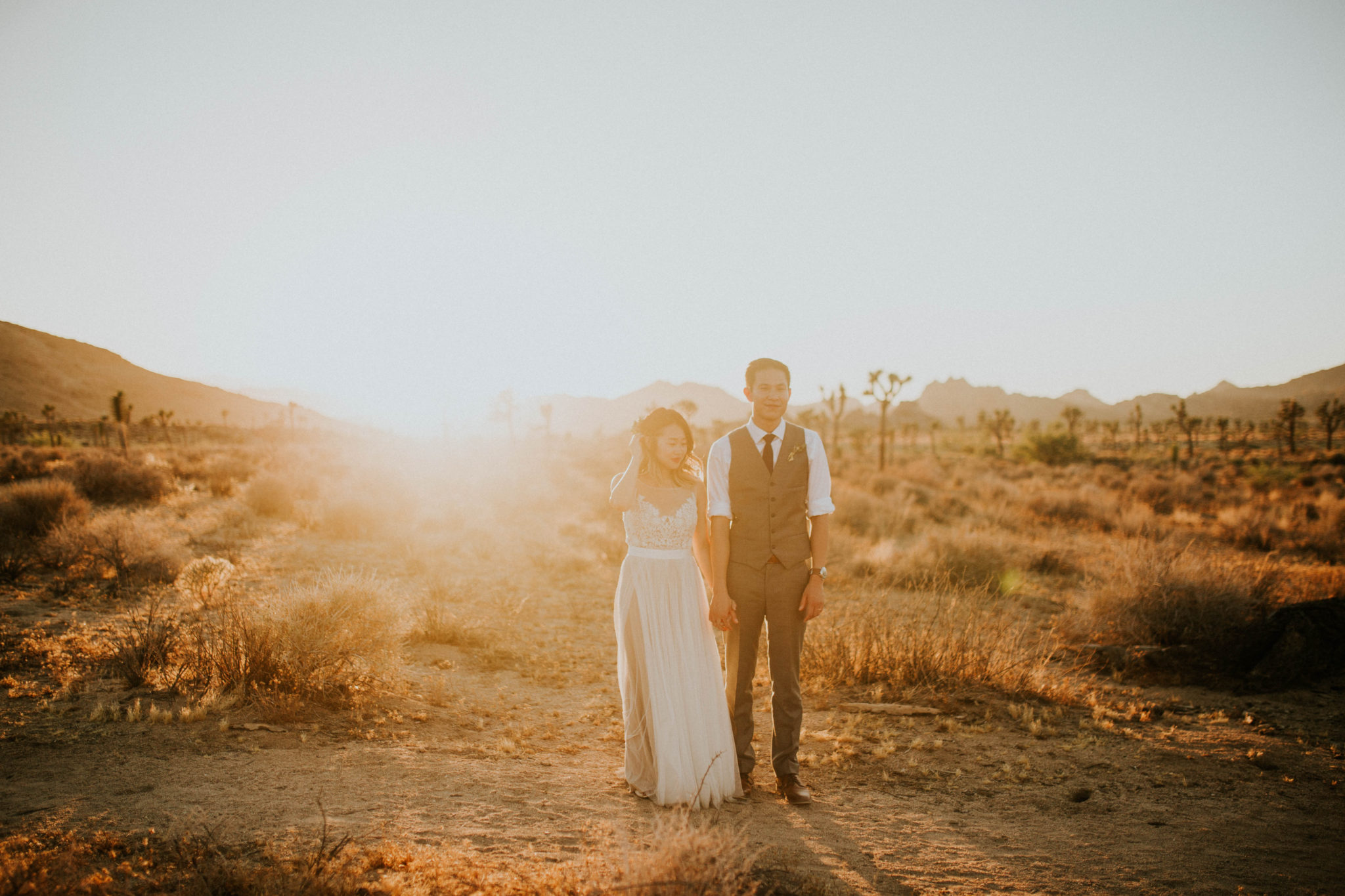 Mandy & Joey Joshua Tree Elopement California Wedding Photographer-232