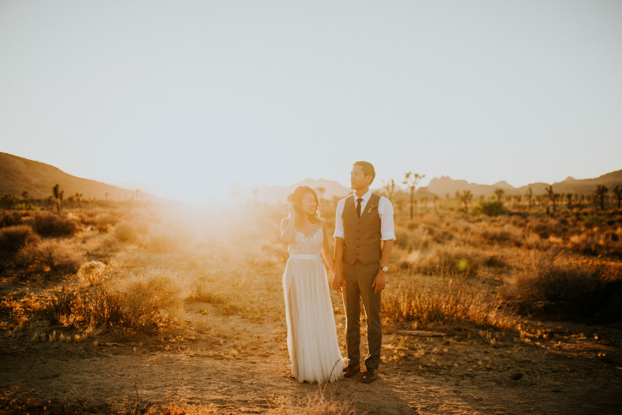 Mandy & Joey Joshua Tree Elopement California Wedding Photographer-239