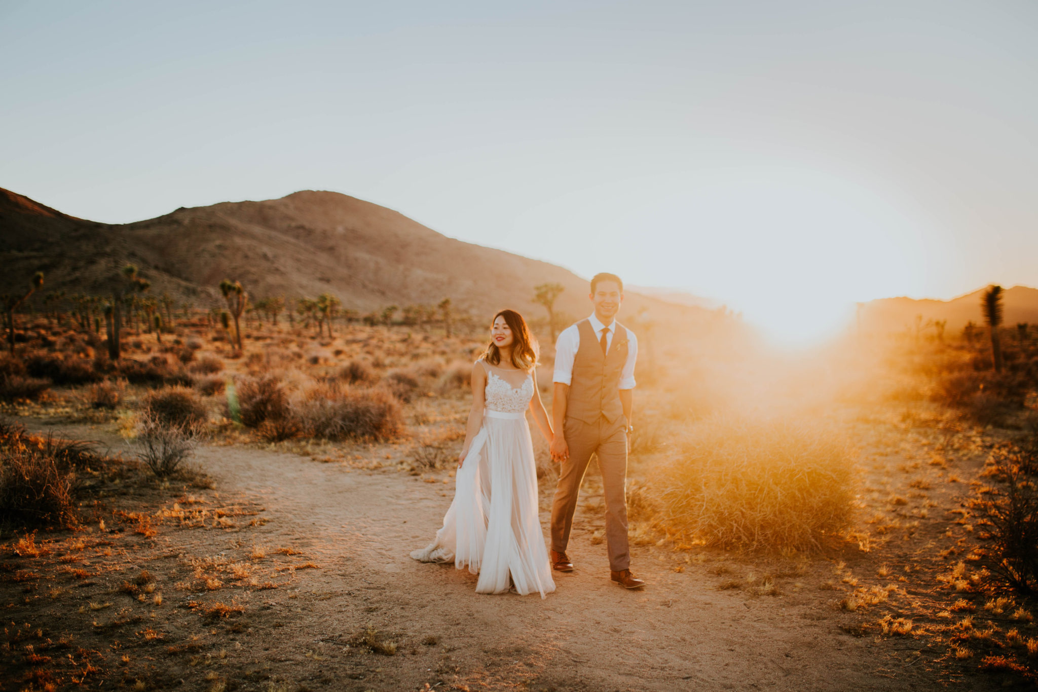 Mandy & Joey Joshua Tree Elopement California Wedding Photographer-254