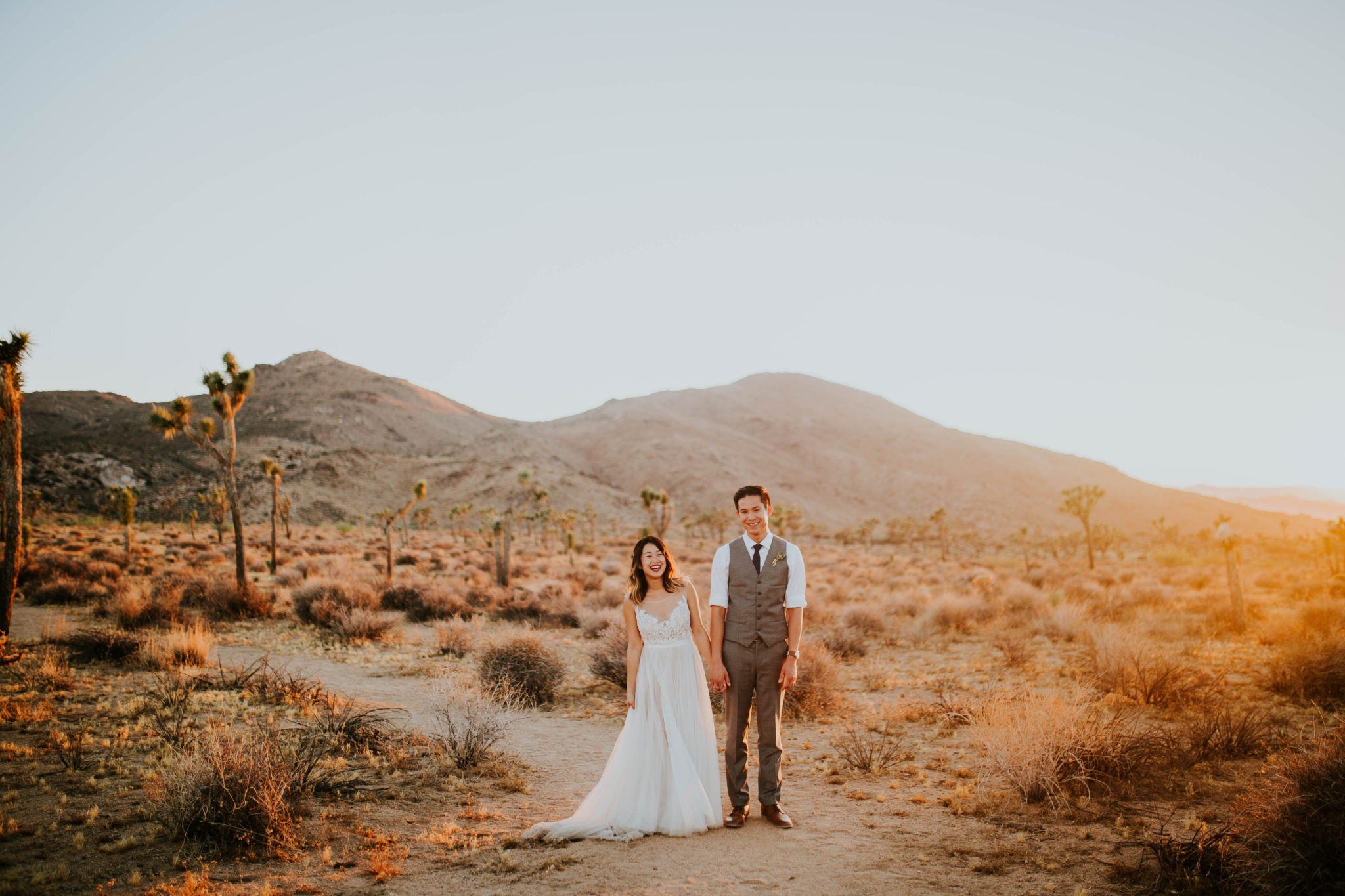 Mandy & Joey Joshua Tree Elopement California Wedding Photographer-264