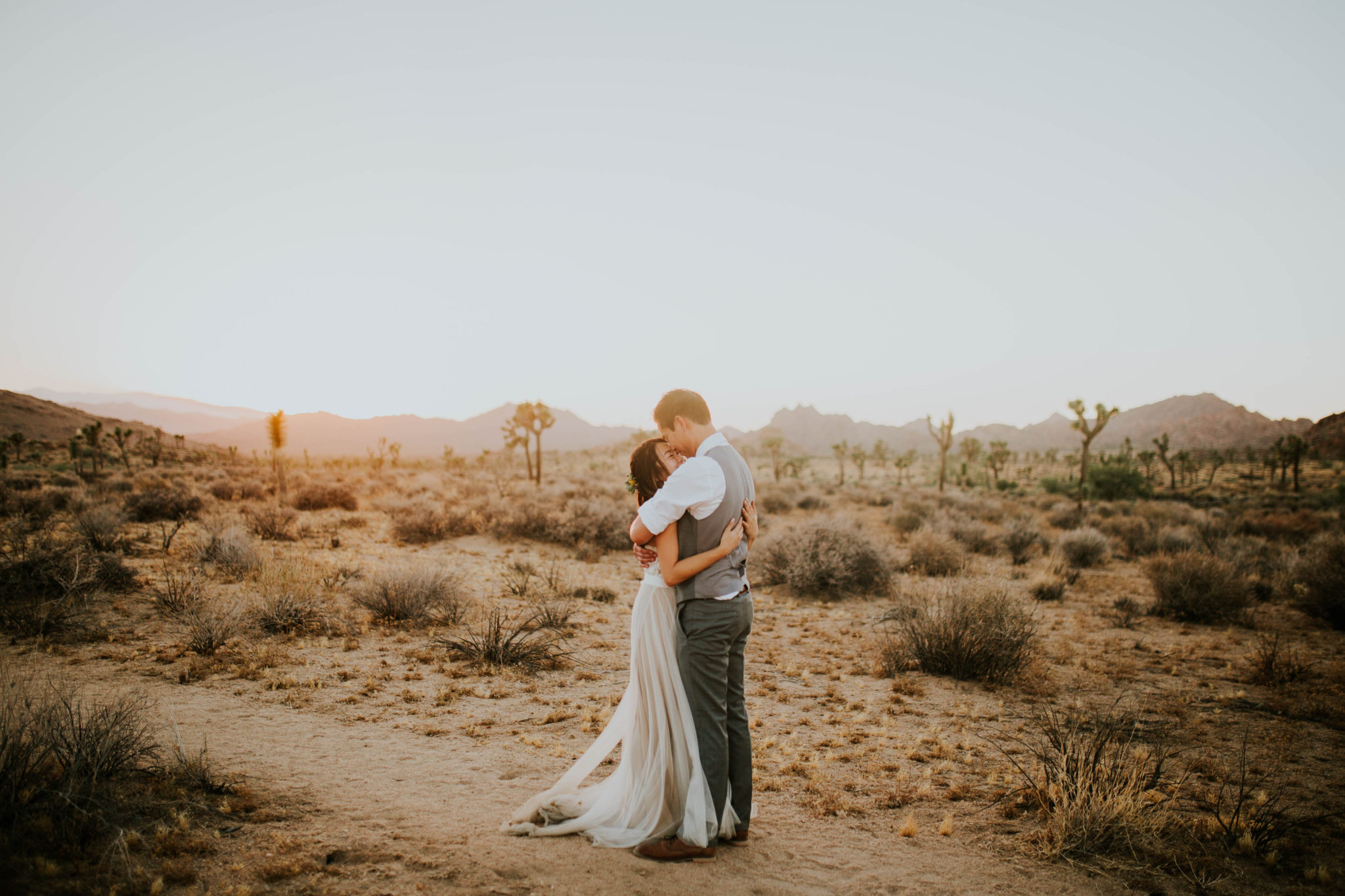 Mandy & Joey Joshua Tree Elopement California Wedding Photographer-284