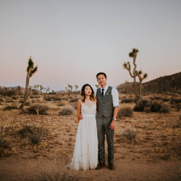 Mandy & Joey // Joshua Tree Day After Session