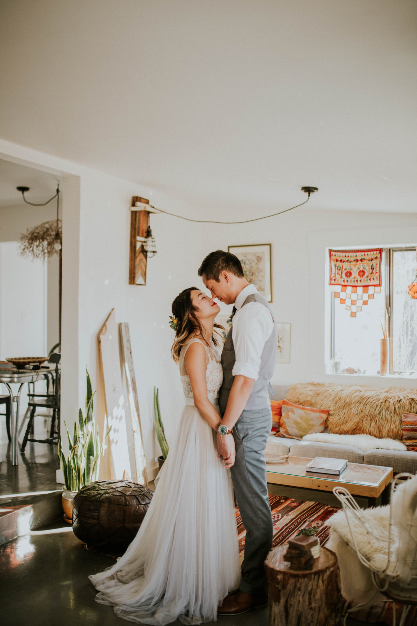 Mandy & Joey Joshua Tree Elopement California Wedding Photographer-45