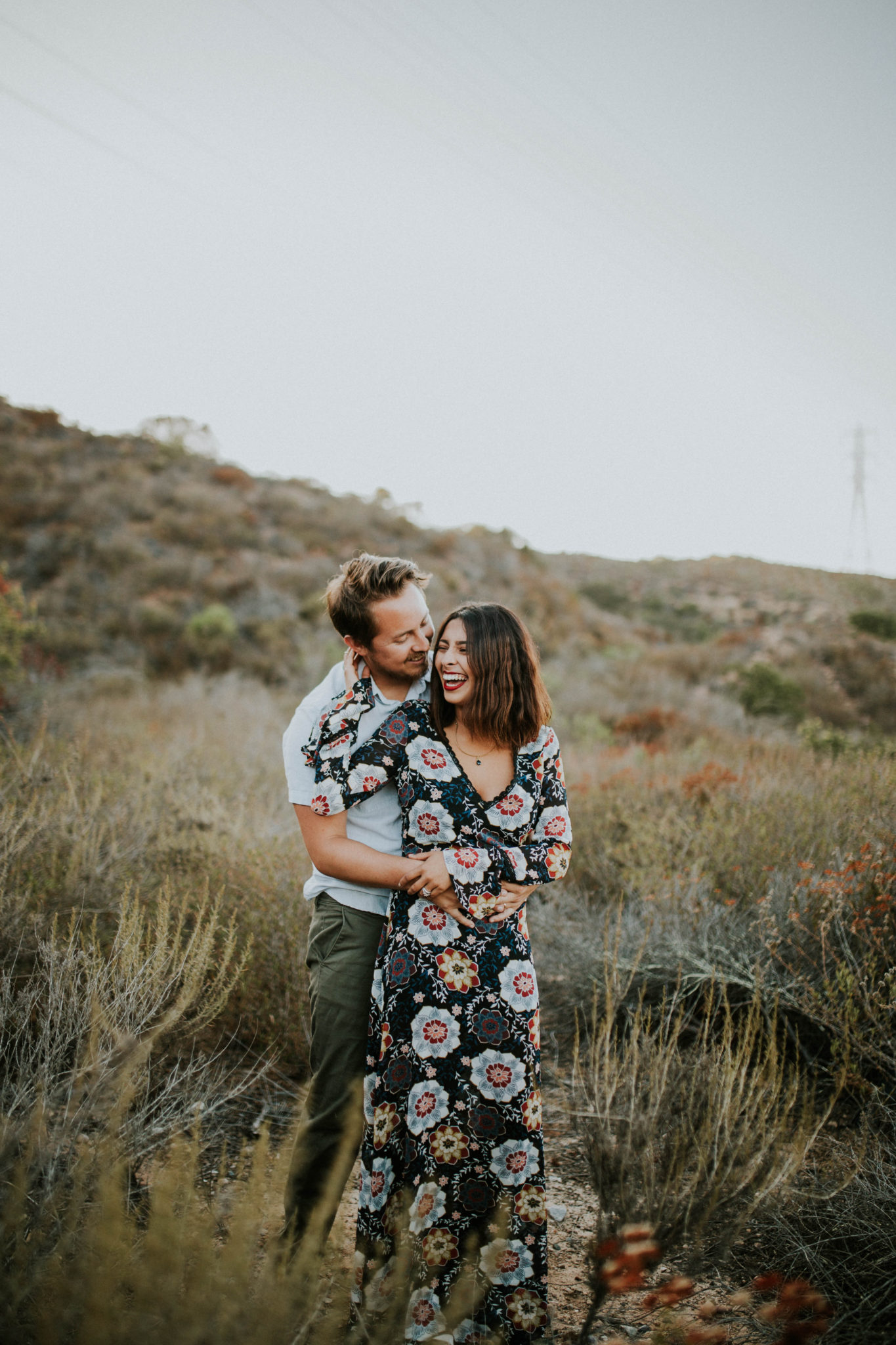 Valerie & Zach Laguna Canyon Couple Session-801