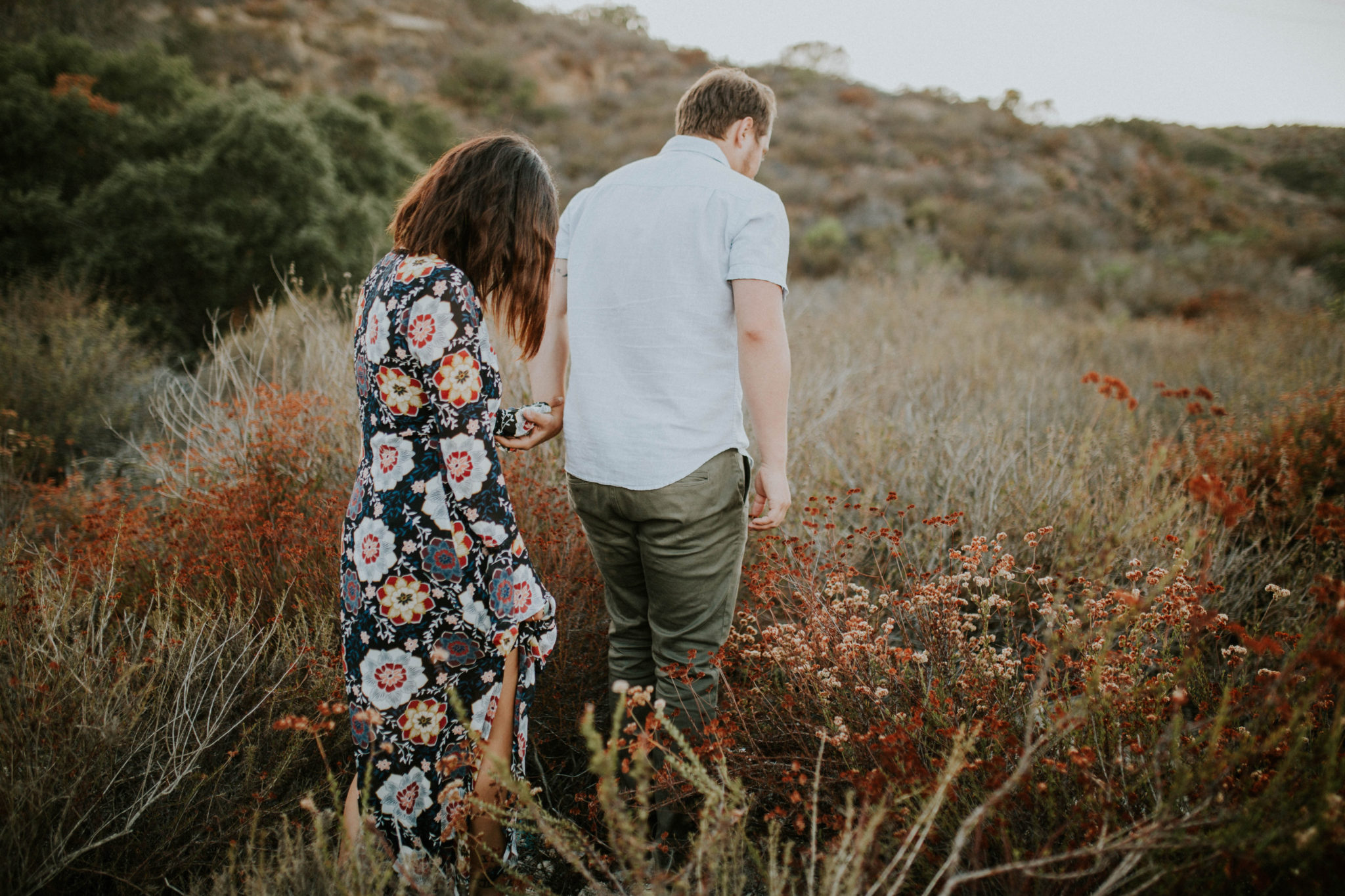 Valerie & Zach Laguna Canyon Couple Session-809