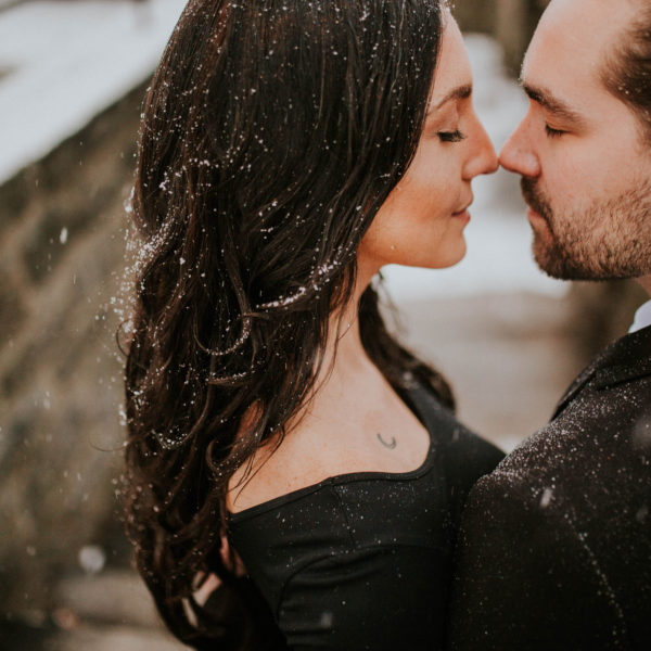 Amy & Mike // Fort Tryon Engagement