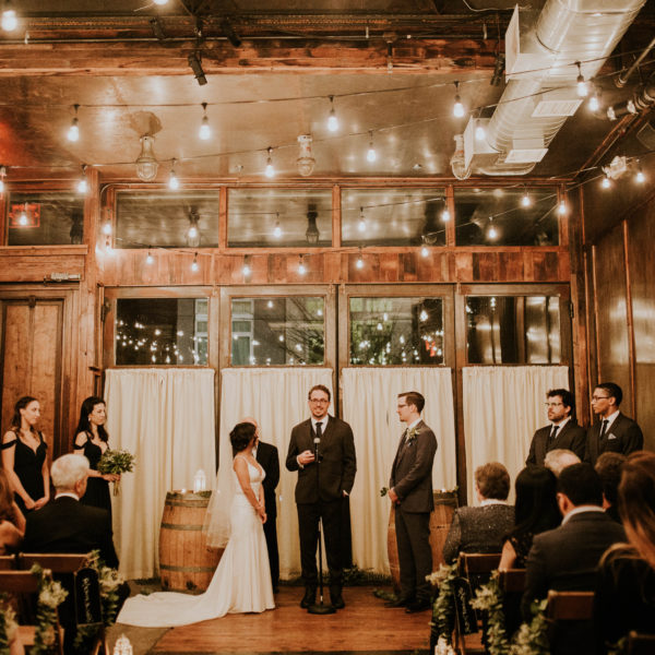 Perla & Matt // Brooklyn Winery Wedding