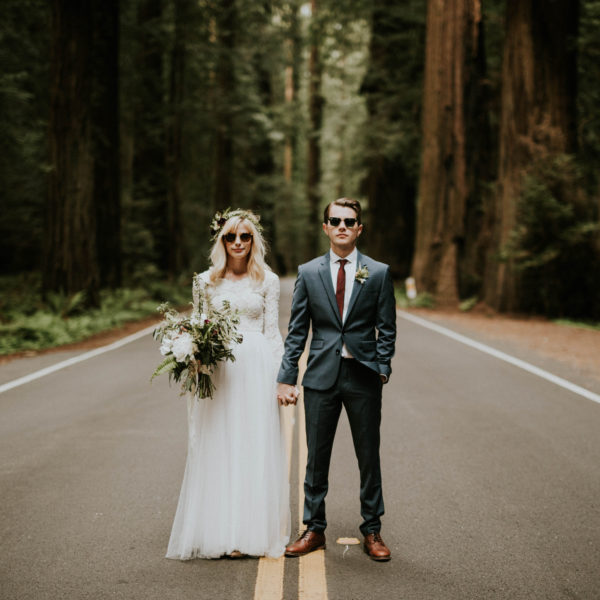 Dilan & Emma // Northern California Redwood Vow Renewal
